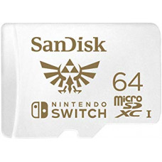 Sandisk microSDXC 64GB Nintendo Switch V2